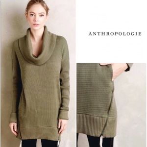 Anthropologie Pure+Good Cowl neck tunic
